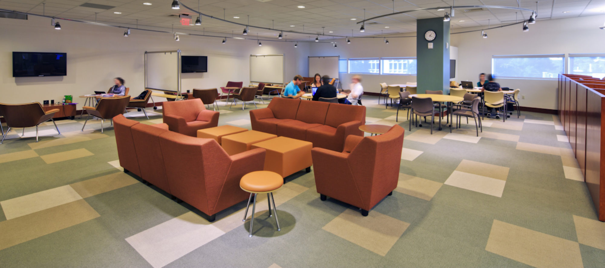 The new leisure reading area of the UNLV Lied Library, designed by LGA Architecture.