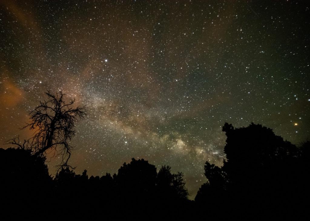 The Milky Way, Nevada, USA