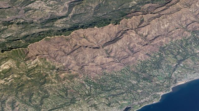 Montecito Wildfire Aftermath
